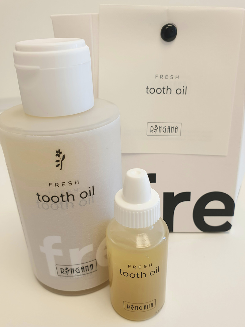 Fresh tooth oil by Ringana